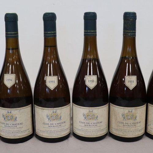 6 Blles CLOS DU CHÂTEAU mise du Ch. De Puligny Montrachet : 6 Blles CLOS DU CHÂT…