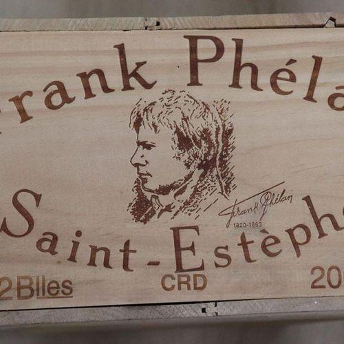 12 Blles FRANK PHELAN Saint Estephe 2001 12 Blles FRANK PHELAN Saint Estephe 200…