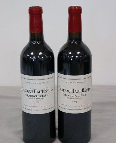 2 Blles CH. HAUT BAILLY Graves GCC 2004 2 Blles CH. HAUT BAILLY Graves GCC 2004 …