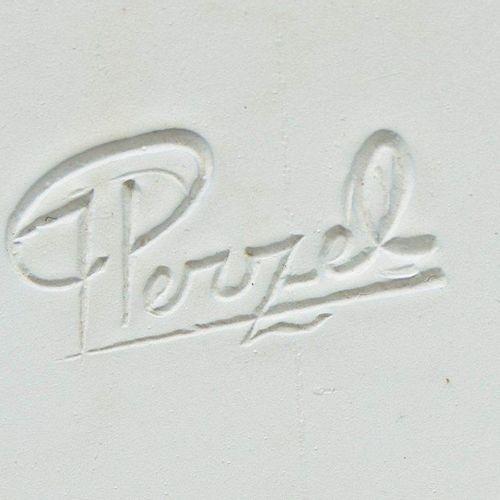 Jean Perzel (1892 1986) Jean PERZEL (1892 1986)  Circular ceiling in bronze and …