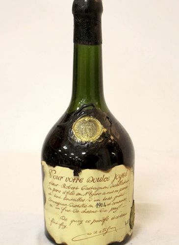 1 Blle Armagnac 1 Blle Armagnac distilled in 1904 by Robert Castagnon  And. Impe…