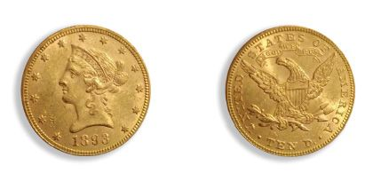 United States dollars: 7 copies. Liberty type. APC Courses