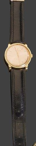 MOVADO Kingmatic Man's watch in yellow gold. Automatic movement. Signed on the d…
