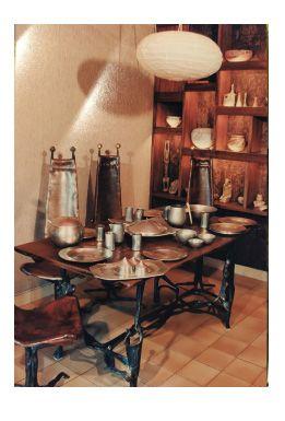Sido (1934 1986) & François THEVENIN (né en 1931) Important dining room furnitur…