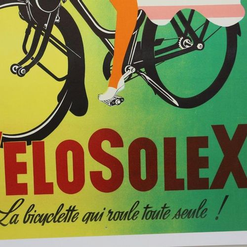 Velosolex, Ravo. Poster canvas. 120x160cm