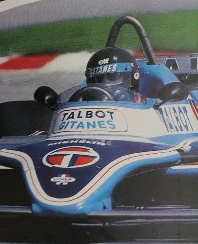Talbot. Canvas poster. 120x160cm