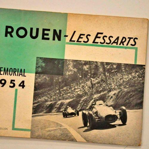 Booklet of ROUEN LES ESSARTS 1953 1954 hardcover brochure 32 pages