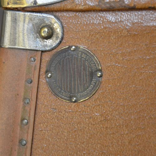 """MOYNAT """"The must have luggage  A pair of specially shaped suitcases made to meas…"""