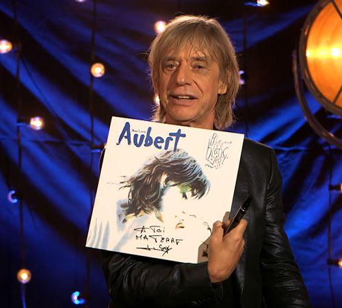 """Jean Louis AUBERT Le vinyle dédicacé de l'album """"Bleu blanc vert"""" de Jean Louis …"""