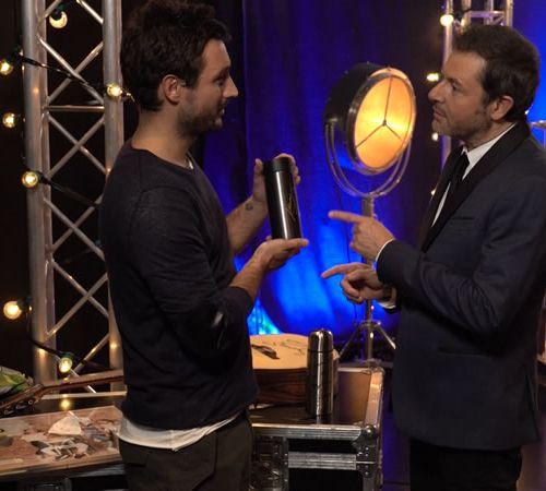 Jérémy FRÉROT The bottle from Jérémy Frérot's last tour was signed by the singer…