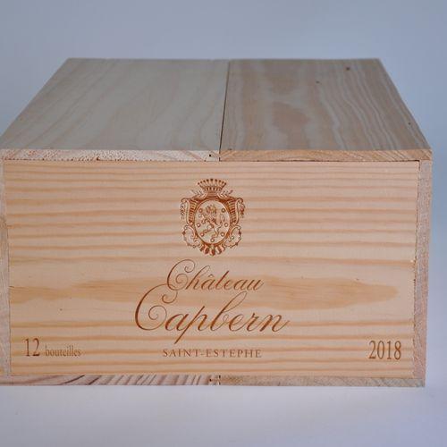 Saint Estèphe Caisse de 12 bouteilles Château Capbern 2016