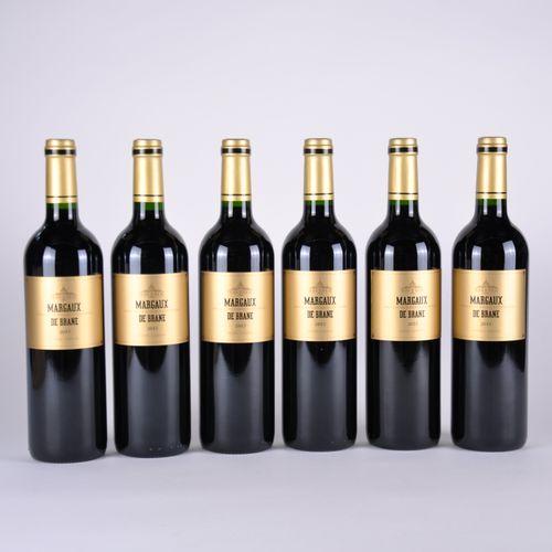 Margaux de Brane du Château Brane Cantenac Caisse de 6 bouteilles, Bordeaux, Mar…
