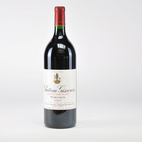Château Giscours Magnum 1989 Lot d'un Magnum, Bordeaux, Margaux 3ème Cru Classé,…