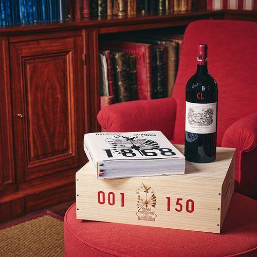 Château Lafite Rothschild, Caisse Almanach 2018 Lot d'une caisse bois d'1 Magnum…