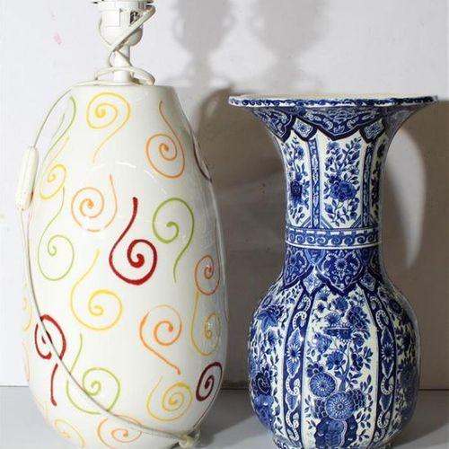 Réunion de sept céramiques diverses.