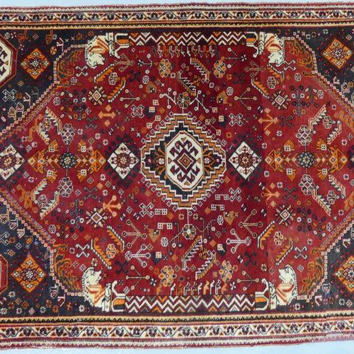Gashghai carpet 158 x 108 cm.
