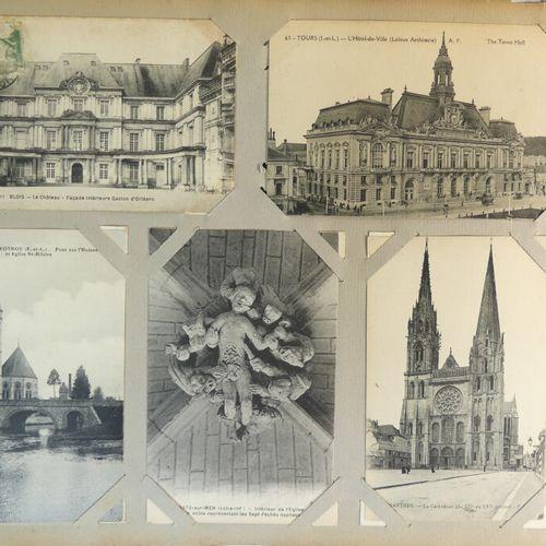 Album d'env 500 cartes postales France divers.