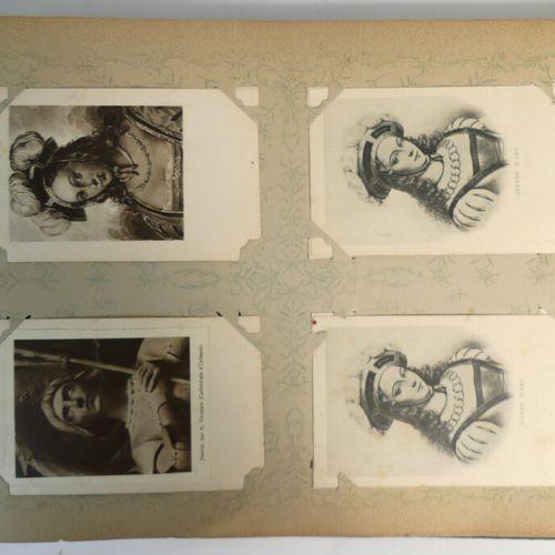 Album cartes postales Orléans et Jeanne D'Arc (320 env).