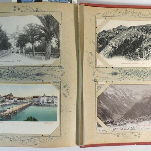 Album cartes postales anciennes France et étranger (193 env).