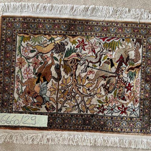 东方丝毯。69 x 50厘米。