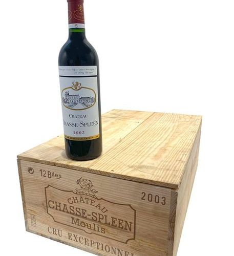 12 Btes Chateau Chasse Spleen 2003 CBO
