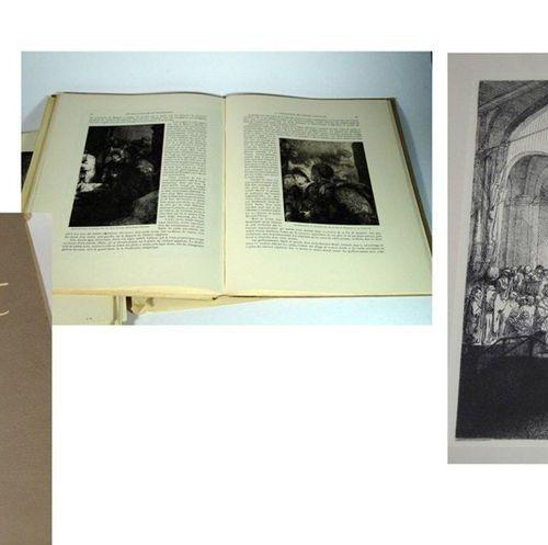 Bücher / Books Konvolut Rembrandta) Portfolio. Une sélection de cent des plus pr…