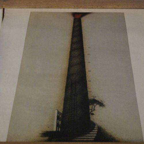 Antiquités, Varia, lot mixte, six gravures, affiche d'exposition Meckseper, 1981…