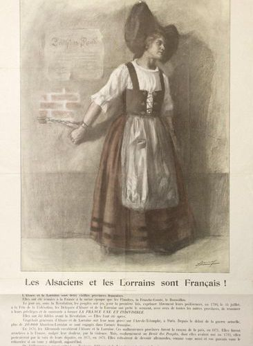 """JONAS. """"THE ALSATIANS AND THE LORRAINE PEOPLE ARE FRENCH!... More than 20,000 Al…"""