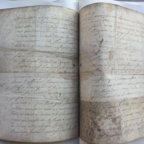 ROCHAMBEAU (Marquis de): Lettre manuscrite datée de Janvier 1778: 4 pages manusc…