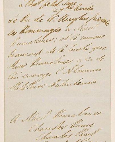 WELLINGTON (Arthur Wellesley, Duke of) Dublin 1769 1852 the Winner of Waterloo A…