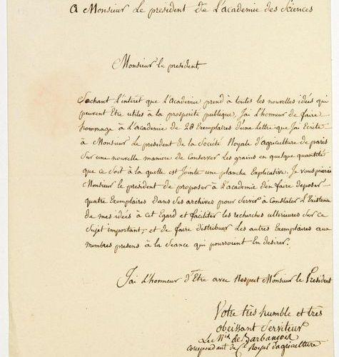 (INDIA) Charles Hélion de BARBANÇOIS VILLEGONGIS, Marquis de BARBANÇOIS, disting…