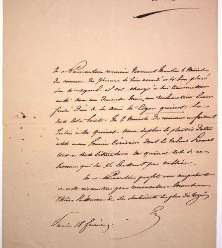 LAMARTINE praises Edgar QUINET at THIERS. Alphonse de LAMARTINE Poet, novelist a…