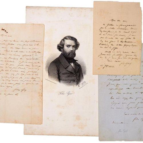 Félix PYAT, Literator, Playwright, Revolutionary Socialist, Numerous times Membe…
