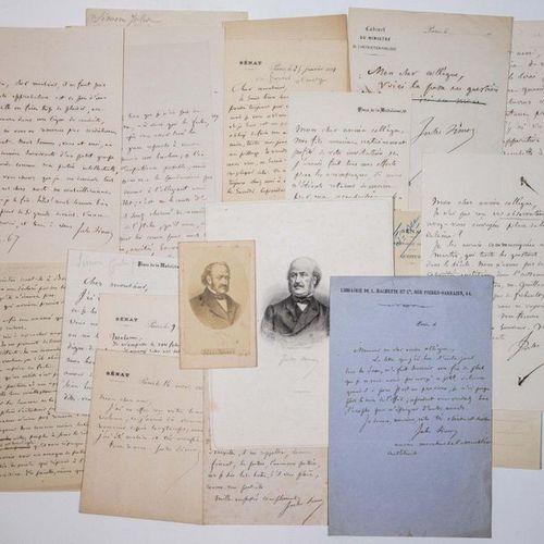 Jules SIMON (Jules SUISSE dit) Lorient/ MORBIHAN 1814 1896 Minister of Public In…