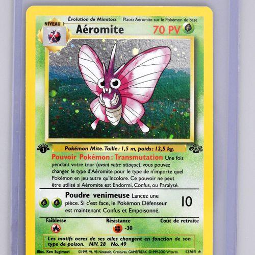 AEROMITE Ed 1  Bloc Wizards Jungle 13/64  Carte pokémon en superbe état