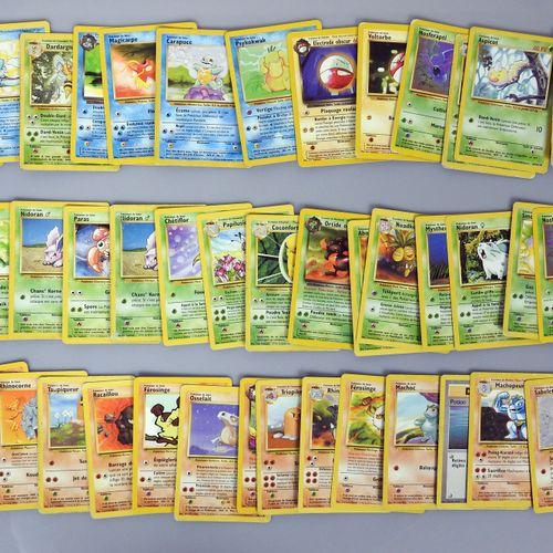 BLOC WIZARDS  Importante collection de cartes pokemon comprenant 14 cartes rares…