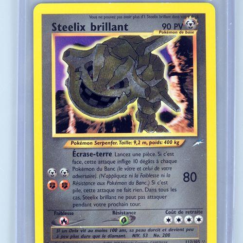 STEELIX BRILLANT Ed 2  Bloc Wizards Neo Destiny 112/105  Carte pokémon en superb…