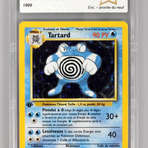 TARTARD Ed 1  Bloc Wizards Set de base 13/102  Carte pokémon notée PCA 8/10