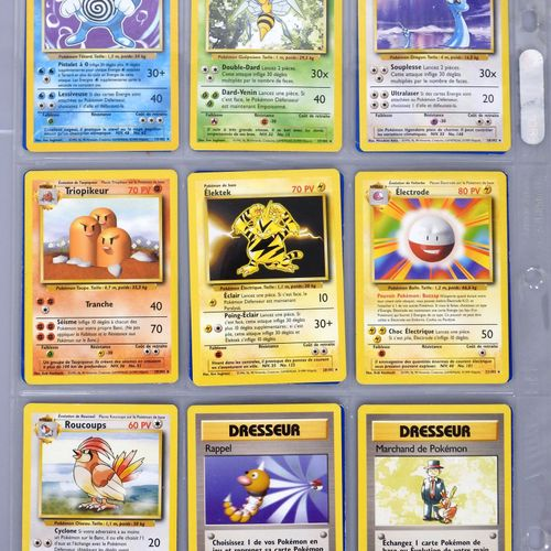 底层套装  Ed 2稀有卡组,包括10张光环卡(Alakazam, Leveinard, Melofee, Leviator, Tygnon, Magneton…