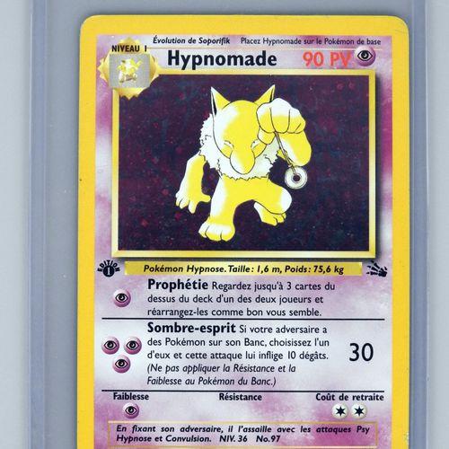 HYPNOMADE Ed 1  巫师化石块8/62  口袋妖怪卡的平均状况