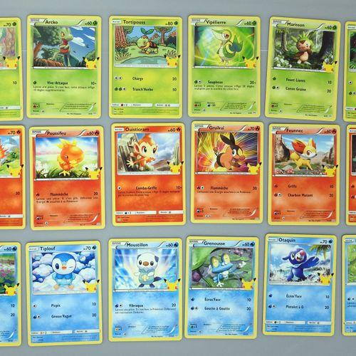 VINGT CINQUIEME ANNIVERSAIRE  Collection complète des 25 cartes distribuées par …
