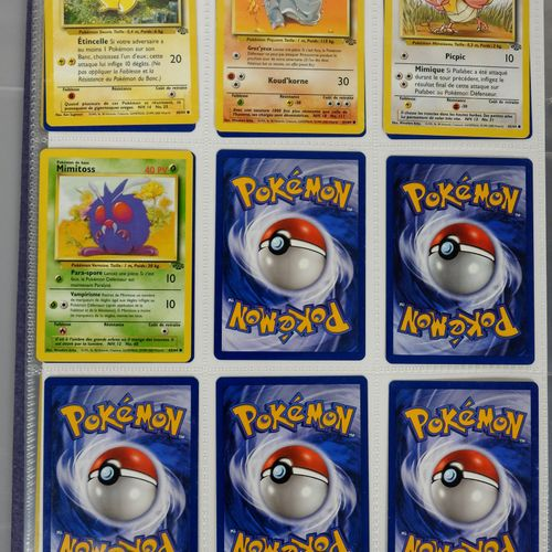 巫师块  进口收藏的第1版和第2版的pokémon卡,各种扩展,大多数状况非常好  约180张卡片