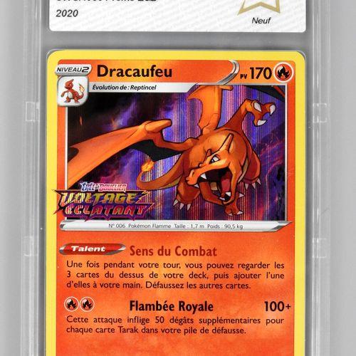 达尔豪斯 菲利普斯(DRACAUFEU)  剑与盾块促销活动SWSH 066  口袋妖怪卡被评为PCA 9.5/10