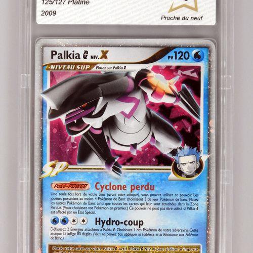 PALKIA G级 X  铂金块 铂金125/127  口袋妖怪卡被评为PCA 9/10