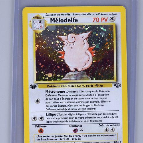 MELODELFE Ed 1  巫师丛林区1/64  状况极佳的口袋妖怪卡