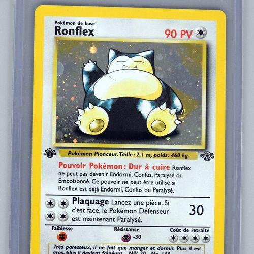 RONFLEX Ed 1  Bloc Wizards Jungle 11/64  Carte pokémon en superbe état