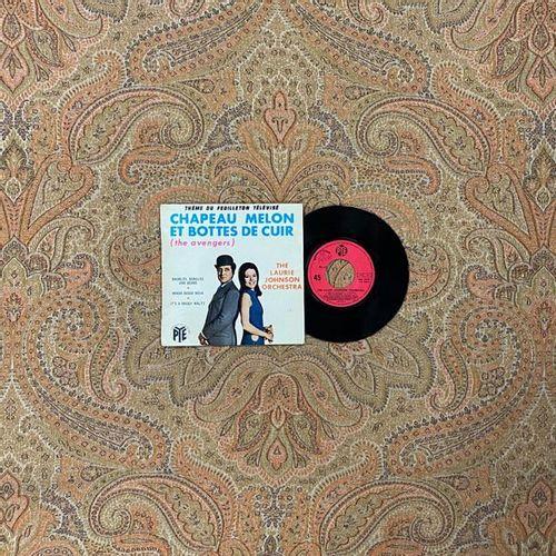 """BOF 1 disque Ep Bande originale de la série """"Chapeau melon et bottes de cuir""""  P…"""
