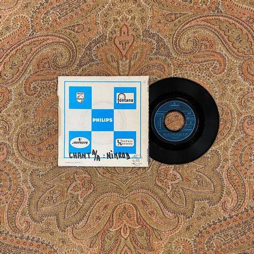 POP ROCK 1 disque 45 T Nimrod  VG (large écriture au dos); EX  Psyché/Mod/Freakb…