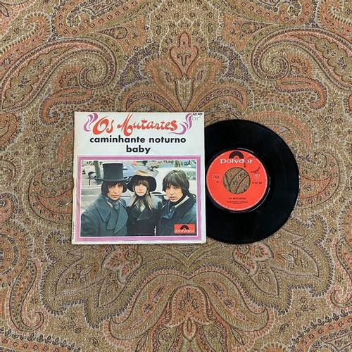 POP ROCK 1 x 7'' Os Mutantes  French Pressing and Cover  VG (writing on the back…