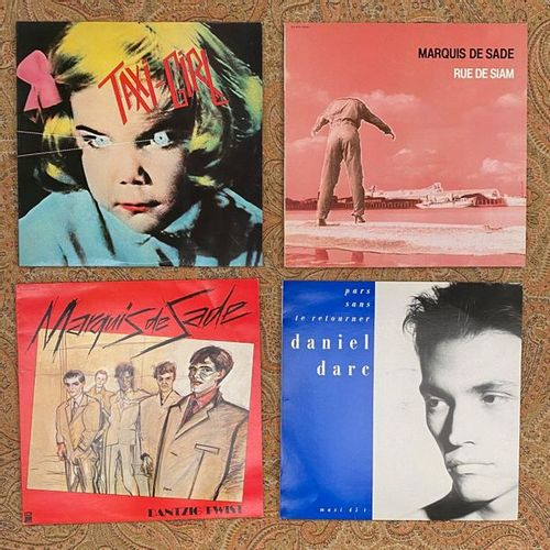 FRANCAIS 4 x Lp/12'' French New Wave  VG+ to EX; VG+ to EX